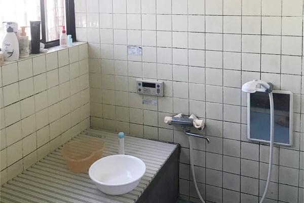 浴室が寒い