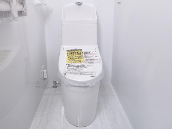 掃除しやすく汚れにくいトイレに