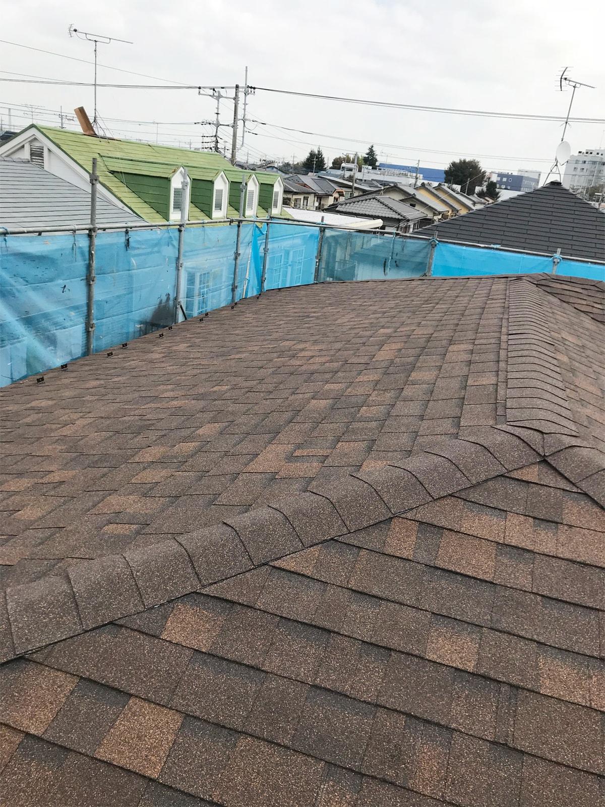 耐震工事、屋根葺き替え