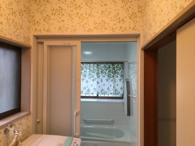 浴室改装工事&洗面所内装リフォーム